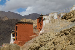 Palace in Leh Royalty Free Stock Images