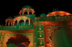 Palace lighting at night Stock Photography