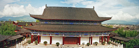 Palace in lijiang, china Stock Images