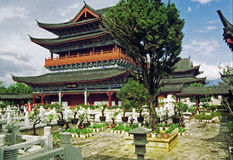 Palace in lijiang, china Royalty Free Stock Photography