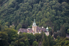 Palace of Lillafured Stock Photo