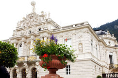 Palace in Linderhof Stock Photography