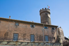 Palace of the Loggia. Bagnaia. Lazio. Italy. Stock Images