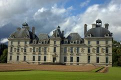 Palace on Loire.France Stock Images