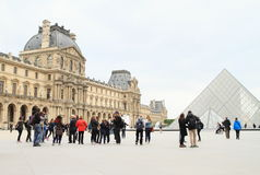 Palace Louvre Royalty Free Stock Photos