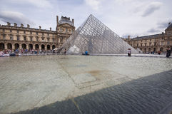 The Palace of Louvre Stock Photos