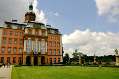 Palace in Lower Silesia South of Poland Stock Photography