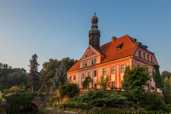 Palace in Lower Silesia Royalty Free Stock Images