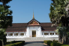Palace of Luang prabang Stock Images