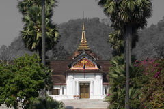 Palace of Luang prabang Royalty Free Stock Images