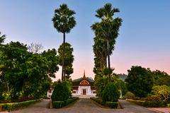 Palace of Luang Prabang (National Museum) Royalty Free Stock Image