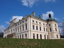 Palace in Lubartow, Poland Stock Images