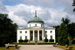 Palace in Lubostro� Stock Photography
