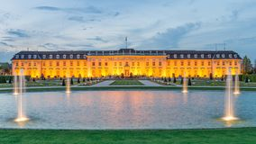 Palace of Ludwigsburg. The Palace of Ludwigsburg near Stuttgart Royalty Free Stock Photography