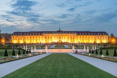 Palace of Ludwigsburg. The Palace of Ludwigsburg near Stuttgart Royalty Free Stock Images
