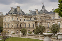 The Palace in the Luxembourg Gardens, Paris, France. Stock Photography