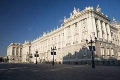 Palace at Madrid Stock Image