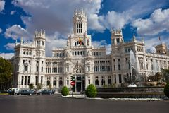 Palace in Madrid Stock Photos