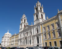 Palace of Mafra, Portugal Royalty Free Stock Photo