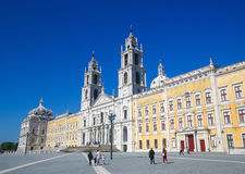 Palace of Mafra, Portugal Royalty Free Stock Photography