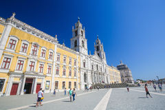 Palace of Mafra, Portugal Stock Images