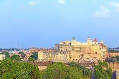 Palace of the Maharajah of Bikaner inside Junagarh Fort, Bikane Royalty Free Stock Photos