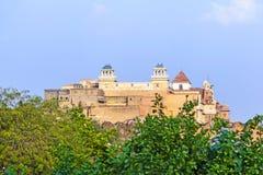 Palace of the Maharajah of Bikaner inside Junagarh Fort Royalty Free Stock Photography