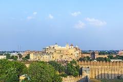 Palace of the Maharajah of Bikaner inside Junagarh Fort Royalty Free Stock Photo