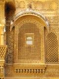 Palace of the Maharajah in Jaisalmer, India Stock Image