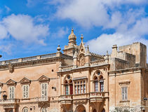 Palace In Malta Royalty Free Stock Images
