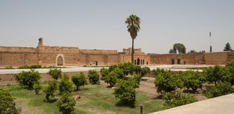 Palace in Marrakech Stock Photo