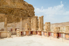 Palace on Masada Stock Image