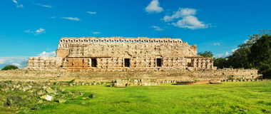 Palace of the Masks in Kabah, Yucatan, Mexico Royalty Free Stock Image