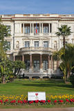 Palace Massena Museum Nice Stock Image