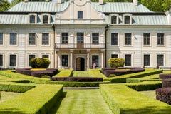 Palace of Mieroszewski Family Stock Photos
