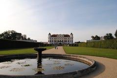 Palace Milotice. Milotice - baroque palace South Moravia stock photos