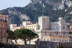 Palace in Monaco and Monte Carlo principality. Stock Images