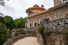 Free Palace Monserrat In Sintra, Portugal. Building With Exquisite Moorish Architecture Royalty Free Stock Image - 153685496