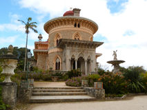Palace of Monserrate (Sintra, Portugal). (UNESCO World Heritage Site Stock Photos
