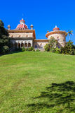 Palace of Monserrate in the village of Sintra Stock Photos