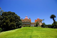 Palace of Monserrate Stock Images