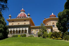 Palace of Monserrate in the village of Sintra, Lisbon, Portugal. Royalty Free Stock Photos