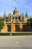 Palace of Montjuic, Barcelona Stock Photography