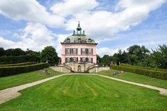 Palace in Moritzburg. Saxony in German Stock Photos