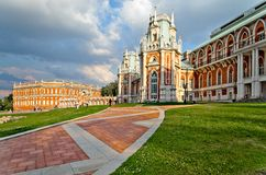The palace in Moscow. Museum-reserve Tsaritsyno, Russia Royalty Free Stock Image