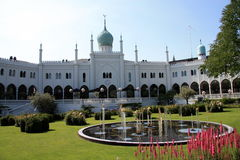 Palace-mosque Stock Images