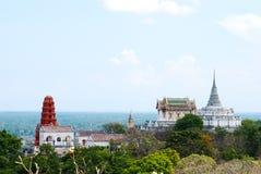 The palace on the mountain. Petchaburi, Thailand Royalty Free Stock Image