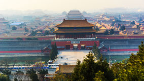 The Palace Museum in Beijing Royalty Free Stock Photography