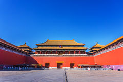 The Palace Museum in Beijing Stock Image