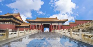 Beijing Forbidden City royalty free stock images